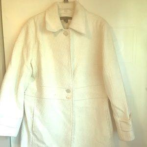 Cream, dress coat